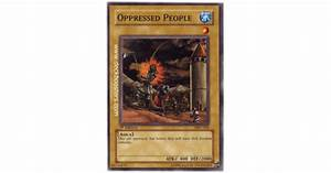 Oppressed People MFC-002 1st Edition Yu-Gi-Oh! Card