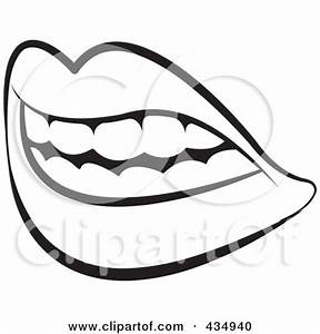 tongue in mouth clipart - Clipground