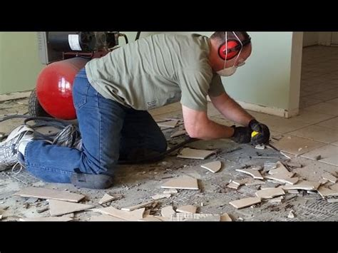 best way to remove tile porcelain ceramic flooring