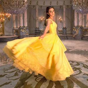 7 first photos reveal how emma watson will look as belle With emma watson belle wedding dress