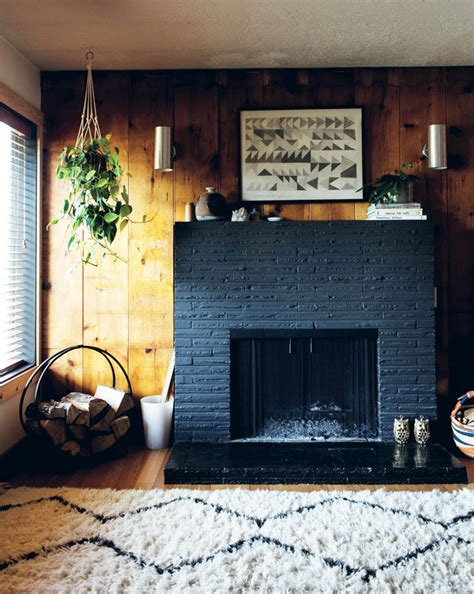 maker spaces cosy portland home visi painted stone