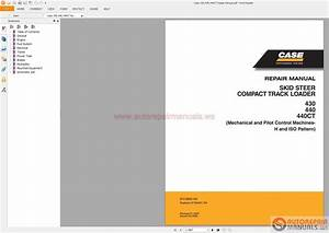 Auto Repair Manuals  Skid Steer Service Manual  U0026 Parts Manual