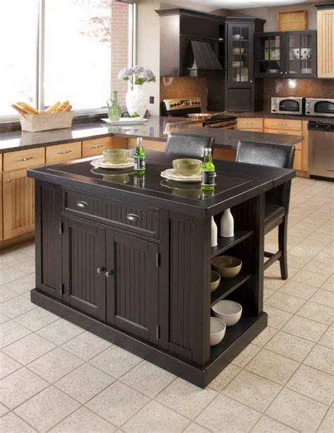 table as kitchen island space saving kitchen island table for storage