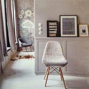 Housse Chaise Scandinave : housse chaise tricotee studio whole recherche google ~ Teatrodelosmanantiales.com Idées de Décoration