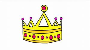 Couronne En Papier à Imprimer : comment dessiner une couronne youtube ~ Melissatoandfro.com Idées de Décoration