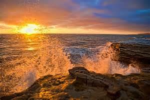 Sunset Beach Cliffs San Diego Hhphoto