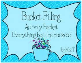 Bucket Filling Classroom Activities