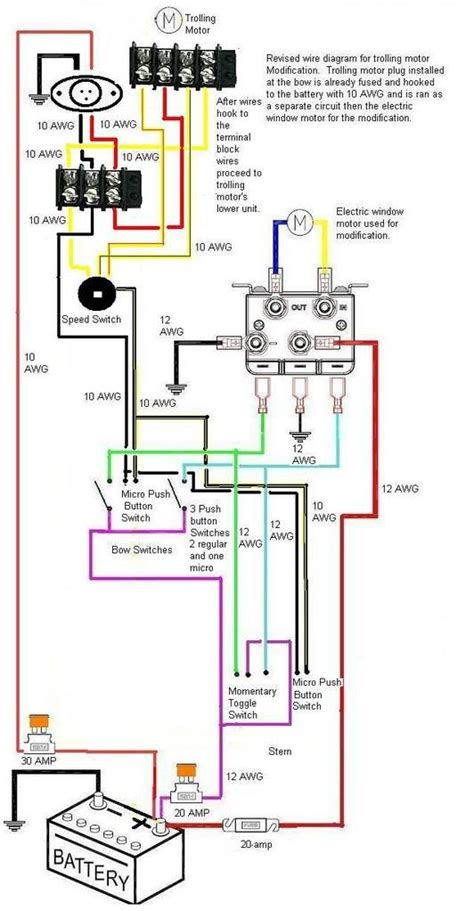 Boat Electronic Wiring Diagram by Motorguide Trolling Motor Wiring Diagram Motorguide Wire