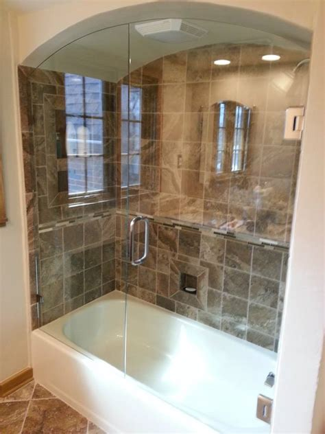 bath tub tile custom glass shower doors glass tub enclosures bathtub