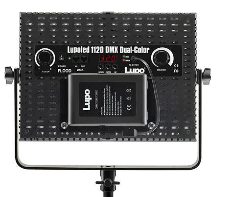 lupo illuminatori lupo lupoled 1120 dmx dual color soft light a led