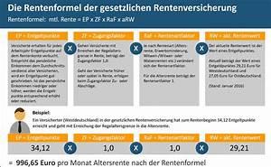 Witwenrente Berechnen Deutsche Rentenversicherung : so wird die gesetzliche rente berechnet pfefferminzia das multimedium f r versicherungsprofis ~ Themetempest.com Abrechnung