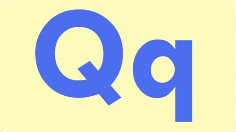 with letter q letter q learn the letters of the alphabet Words