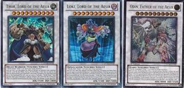 yugioh nordic deck beasts odin thor lord of the aesir loki 40 cards mint ebay