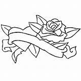 Coloring Ribbon Rose Pages Ribbons Awareness Winding Drawing Getdrawings Cancer Sky sketch template