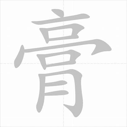 Calcium Dictionary Sulphate Chinese Character Hydrated