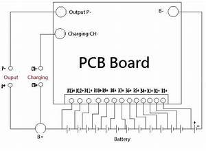 Battery Protection Bms Pcb Board W   Balance For 13 Packs