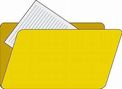 Folder Clipart Icon Clip Vector Documents Explorer