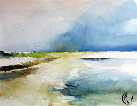 noch mehr sylt aquarellmalerei malen  meer