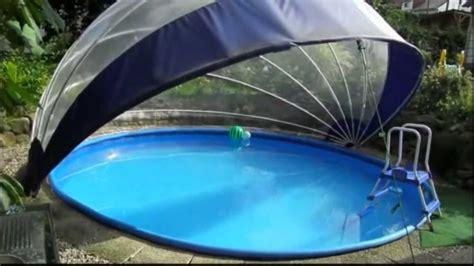 pool 5m durchmesser schwimmbad schwimmbecken 220 berdachung f 252 r rundpool tropiko