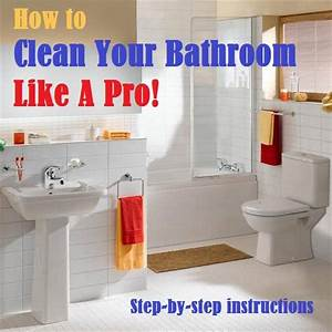 How to clean your bathroom like a pro one good thing by for How to clean bathrooms
