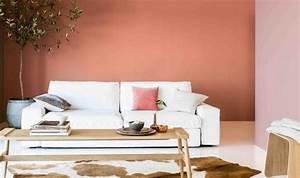 peinture salon 2 couleurs ou unie 31 idees de couleurs 2015 With deco peinture salon 2 couleurs