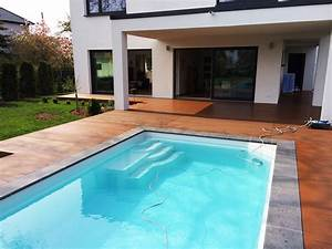 Pool Mit Holzterrasse : referenzen ~ Whattoseeinmadrid.com Haus und Dekorationen