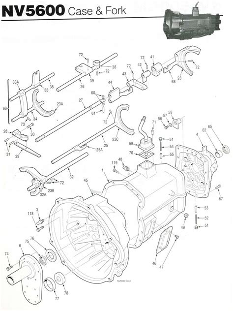 Chevy Manual Nv3500 Transmission Diagram by Nv5600 Transmission 6 Speed Manual Transmission Rebuild