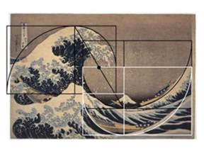 Golden Ratio Wave Painting