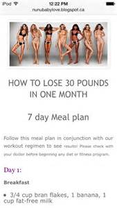 How to Lose Weight in 1 Month