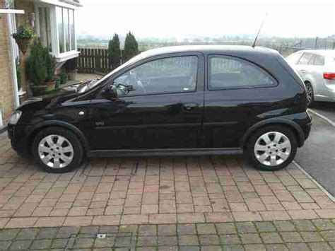 vauxhall black vauxhall 2005 corsa sxi twinport black car for sale
