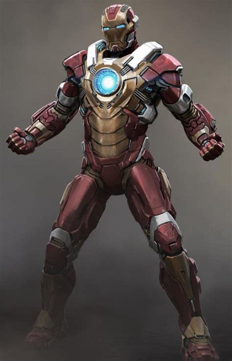 New 'iron Man 3′ Armor Design And (possible) Spoilers