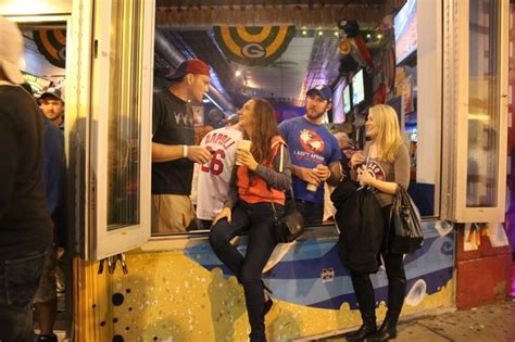 wrigley bars cited  world series overcrowding