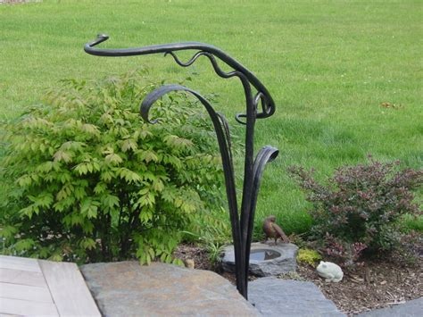 decorative iron stair railings made sculptural railing by rising sun forge