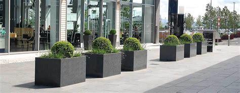 custom planters  designer shopping mall large pots