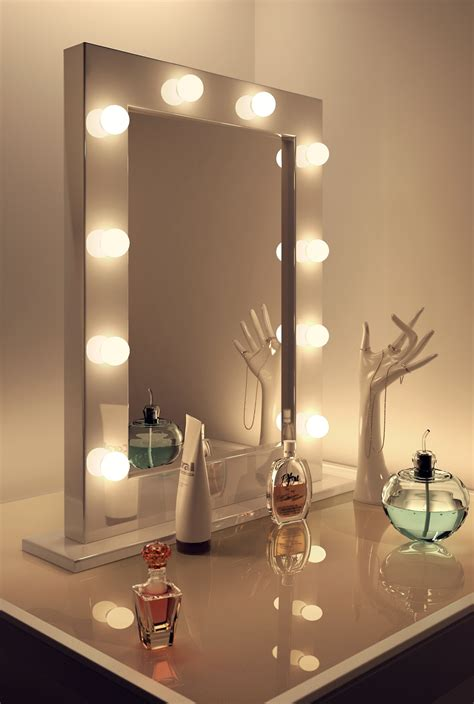 bathroom vanity mirror and light ideas light up vanity mirror with lighted mirror vanity with