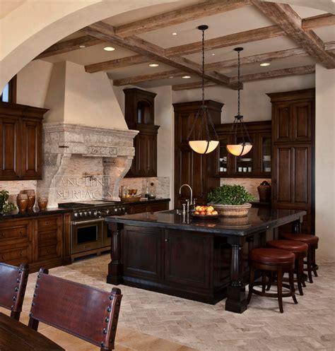 ornate kitchen cabinets kitchen counters and floors mediterranean range 1281
