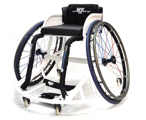 fauteuil sport elite rgk access mat 233 riel handi sport