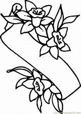 Pages Easter Lily Coloring Banner Lilies Colouring Flower Printable Cartoon Clipart Drawing Print Holidays Cliparts Spring Coloringpages101 Template sketch template