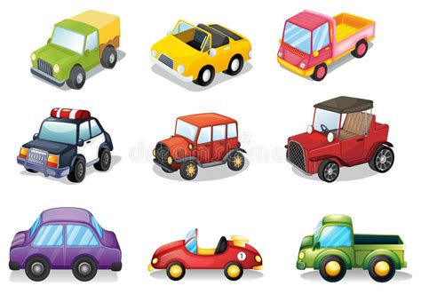 Car Toys Stock Vector. Illustration Of Background