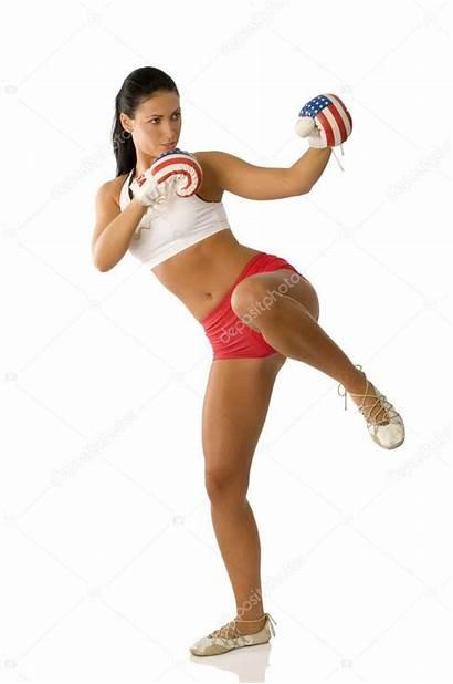 Boxing Kick Woman Gloves 3d Female Wonder