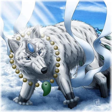 • these wolves travel in groups or packs of about six. White female wolf by SheltieWolf on DeviantArt