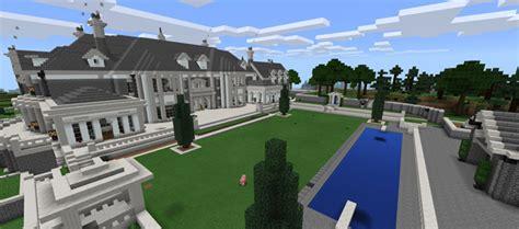 alpine mansion creation minecraft pe maps