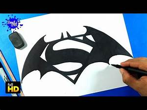BATMAN VS SUPERMAN /How to draw Batman Vs Superman/Como ...