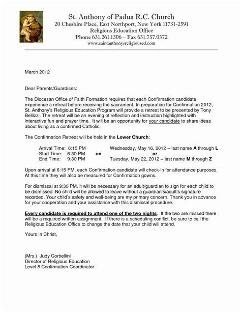 kairos letters  parents unique catholic confirmation
