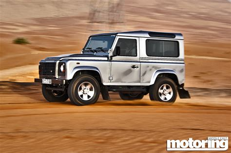 2018 Land Rover Defender 90 Review Motoring Middle East
