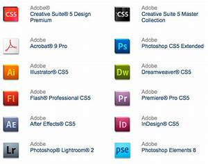 New Official Adobe CS5 Logos + Packaging