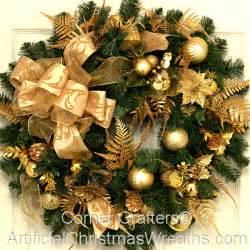 golden splendor christmas wreath artificialchristmaswreaths com christmas wreaths