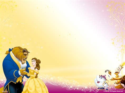 beauty   beast disney princess wallpaper