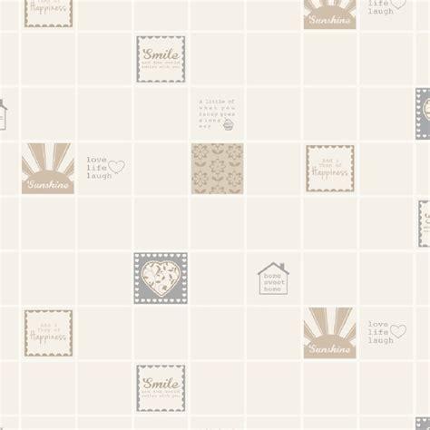 kitchen wallpaper tile effect holden smile tile kitchen bathroom tiling effect wallpaper 6472
