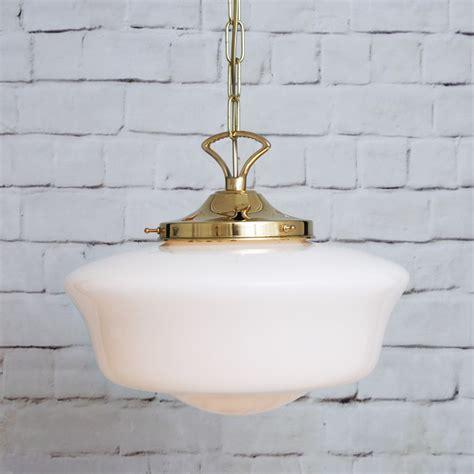 1920s Bathroom Light Fixtures by 1920 S Schoolshouse Pendant Light Vintage Pendant Light
